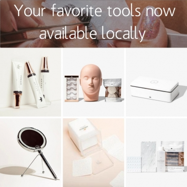 Your Favorite Lash Products Now Available Locally… For a Better Price!