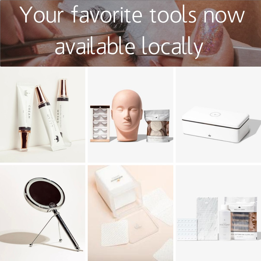 Lash Products are Now Available Locally – Your Favorite Products for a Better Price!