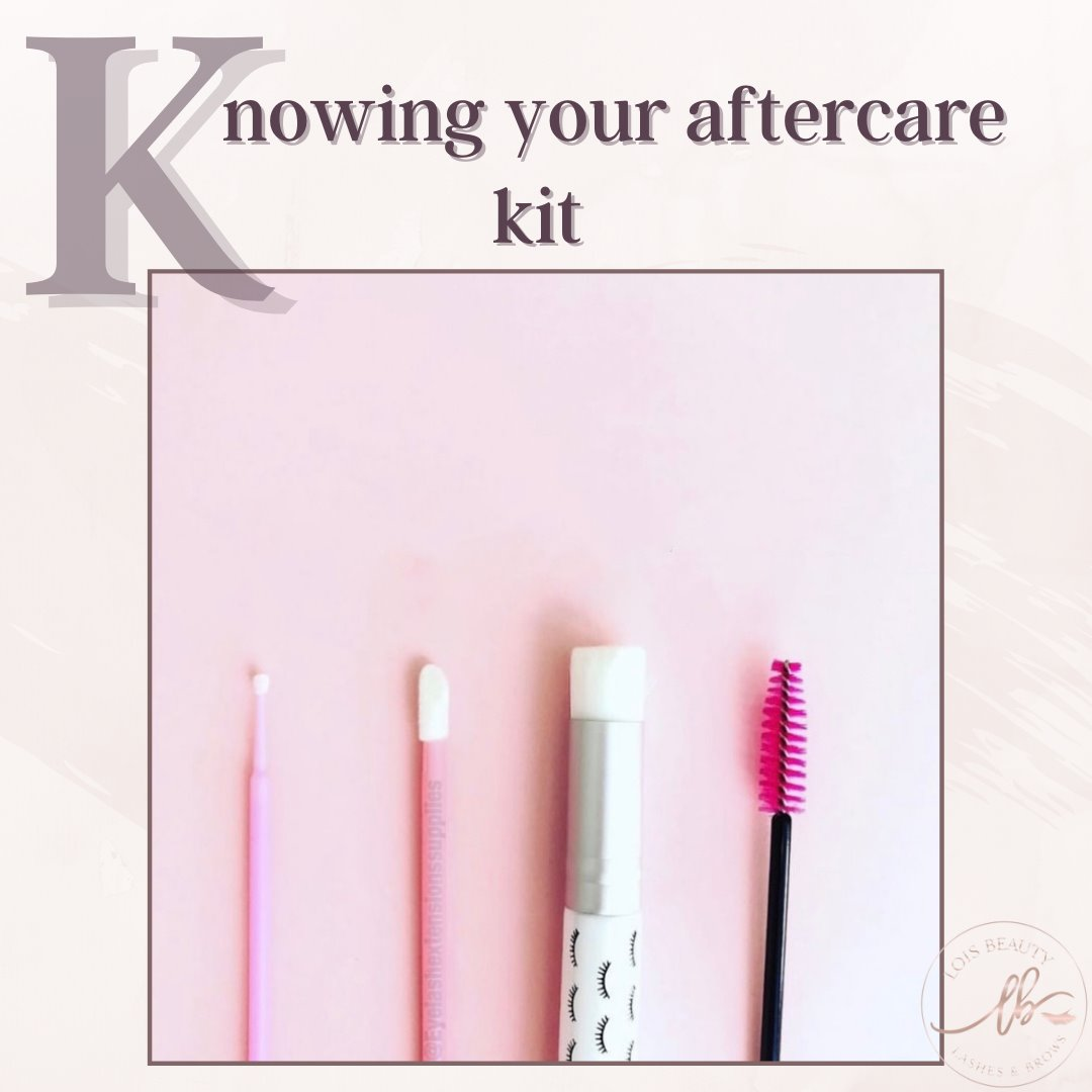 Knowing Your Aftercare Kit